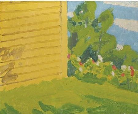 Alex Katz-Yellow House #1-