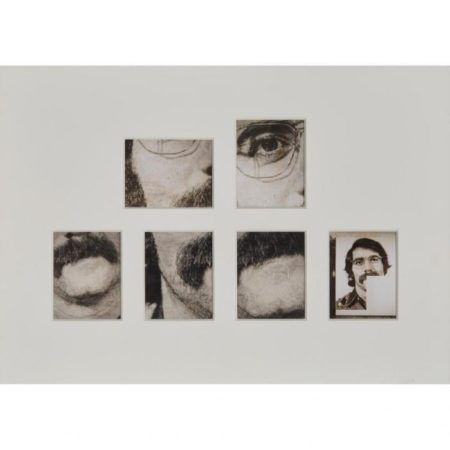 Chuck Close-Self Portrait, Close up; Partial Portrait-1983