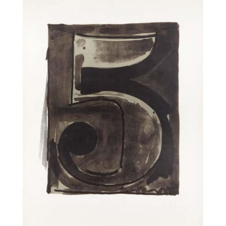 Jasper Johns-Figure 5 (Universal Limited Art Editions 49)-1968