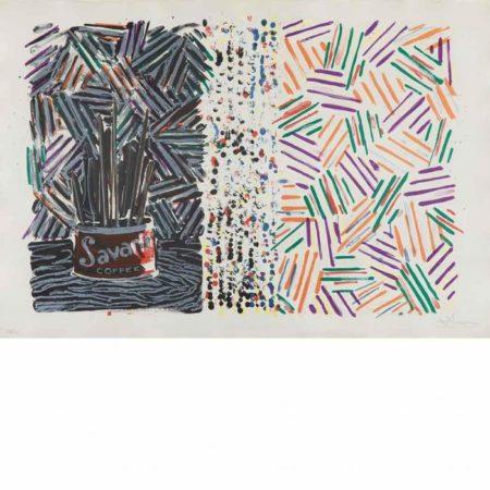 Jasper Johns-Untitled (ULAE 182)-1977