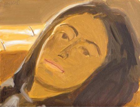 Alex Katz-Study for Portrait of Ada-