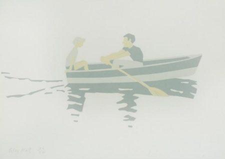 Alex Katz-Rowboat (Maravell 13)-1966