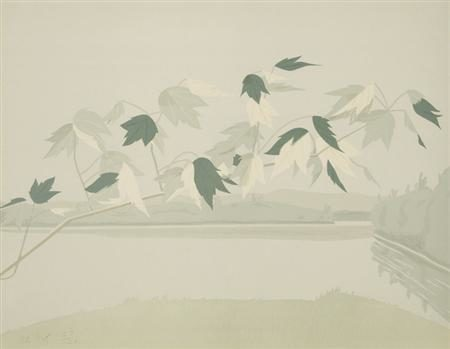 Alex Katz-Late July II-1971