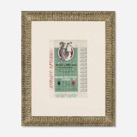 Marcel Duchamp-Obligations pour la Roulette de Monte-Carlo-1938