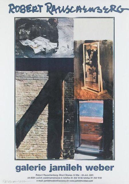 Robert Rauschenberg-Robert Rauschenberg - Ausstellungsplakat Robert Rauschenberg: Short Stories-2001