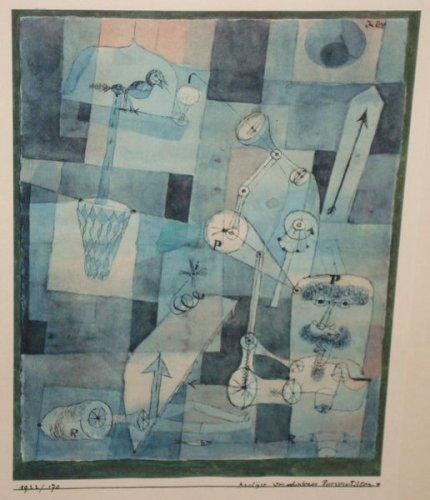 Paul Klee-Analyse De Diverses Perversites (Analysis Of Various Perversities)-1965