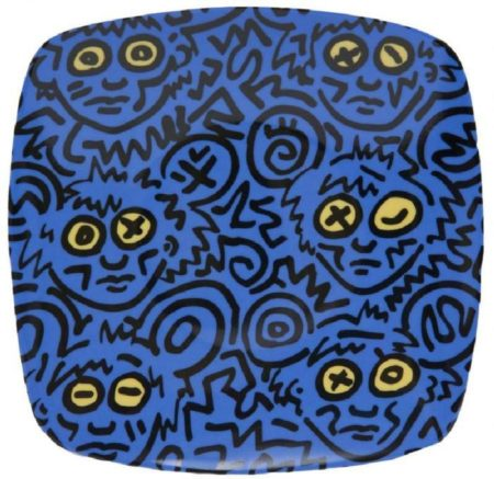 Keith Haring-Keith Haring - Piatto-