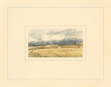 Gerhard Richter-Kanarische Landschaft I-e (Canary Landscape I-e)-1971