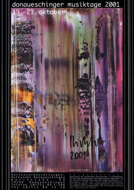 Gerhard Richter-Plakat Donaueschingen-2001