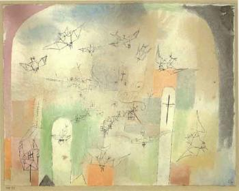 Paul Klee-Heimkehr Der Vogel (Return Of The Birds)-1918