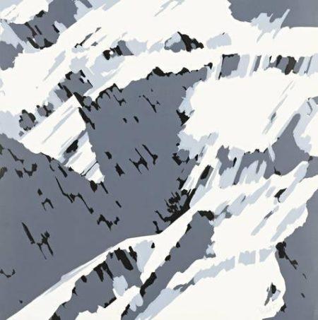 Gerhard Richter-Schweizer Alpen I B2 (Swiss Alps I B2)-1969