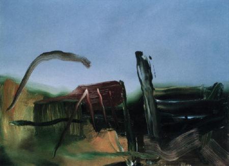 Gerhard Richter-Abstraktes Bild 551-6  (Abstract Painting 551-6)-1984