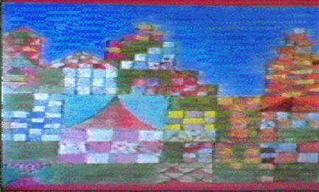 Paul Klee-West-Ostliche Bauten-1928