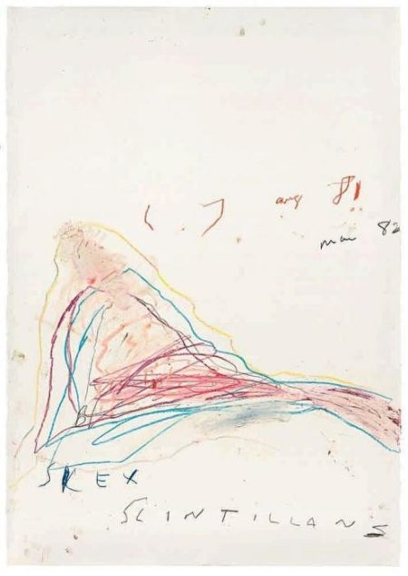 Cy Twombly-Silex Scintillans-1982