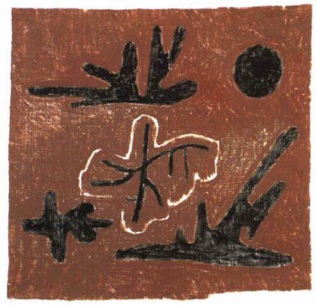 Paul Klee-Letzte Blatter (Last Leaves)-1934