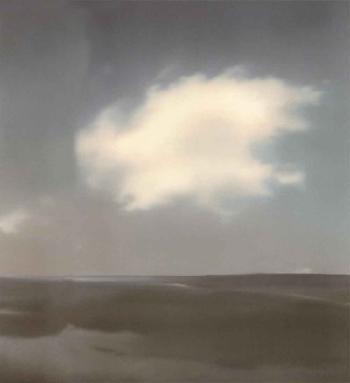 Gerhard Richter-Landschaft mit Wolke (Landscape with Cloud)-1969