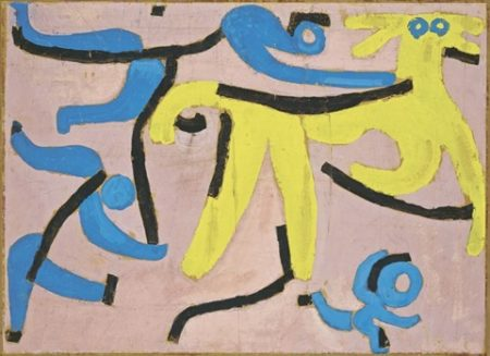 Paul Klee-Der Gelbe Esel (The Yellow Donkey)-1939