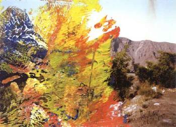Gerhard Richter-Landschaft (Landscape)-1989