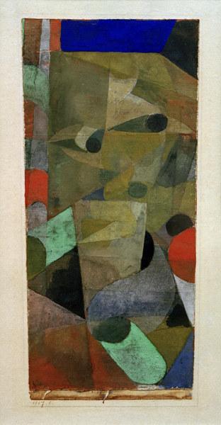 Paul Klee-Blick Des Damons (Look Of The Demon)-1917