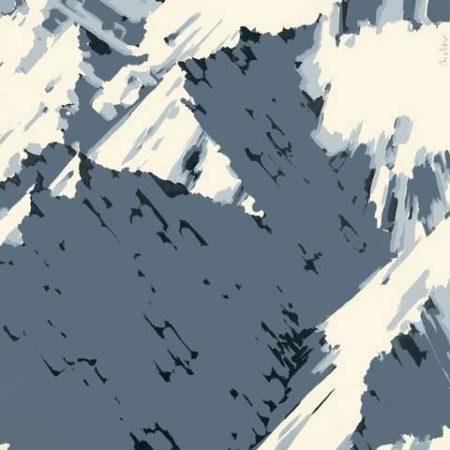 Gerhard Richter-Schweizer Alpen I B3 (Swiss Alps I B3)-1969