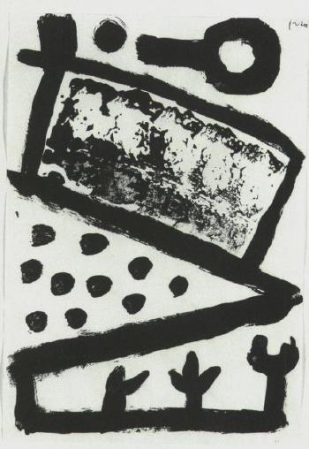 Paul Klee-Es Wird Gebaut (It Is Built)-1940