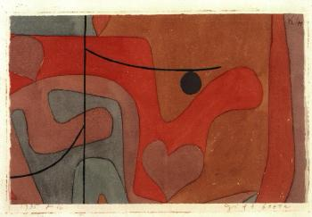 Paul Klee-Gift Beere (Poison Berry)-1935