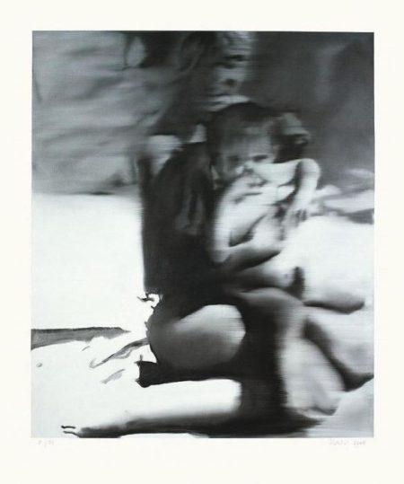 Gerhard Richter-Frau mit Kind (Woman with Child)-2005