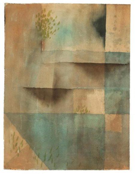 Paul Klee-Die Mauer (Grosseres Blatt)-1929