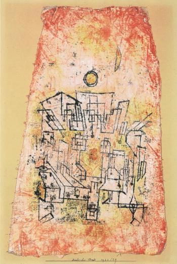 Paul Klee-Arabische Stadt (Arabian City)-1922