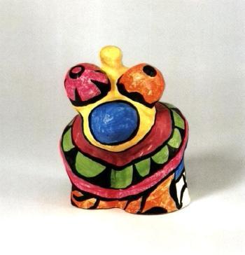 Niki de Saint Phalle-Mini-Nanas-1968