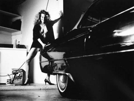 Helmut Newton-Fucking my Cadillac-1987