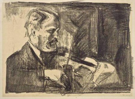 Edvard Munch-Arve Arvesen I-1920