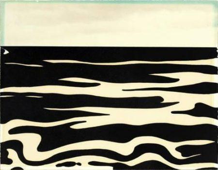 Roy Lichtenstein-Landscape 9, from Ten Landscapes-1967