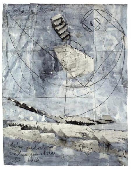 Anselm Kiefer-Leonardo Pisano / Liber Quadratorum / Liber Abaci / Praticageometriae-2008