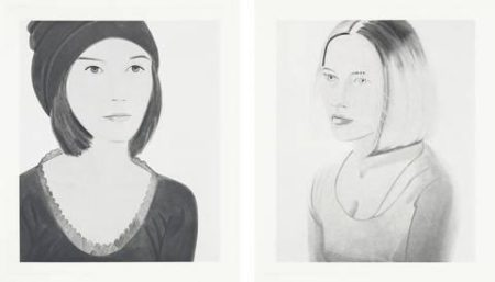 Alex Katz-Six Female Portraits-2004