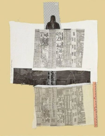 Robert Rauschenberg-Robert Rauschenberg - Sheephead (From The Airport Series)-1974