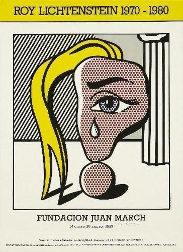 Roy Lichtenstein-Muchacha con lagrima III (Fundacion Juan March)-1977