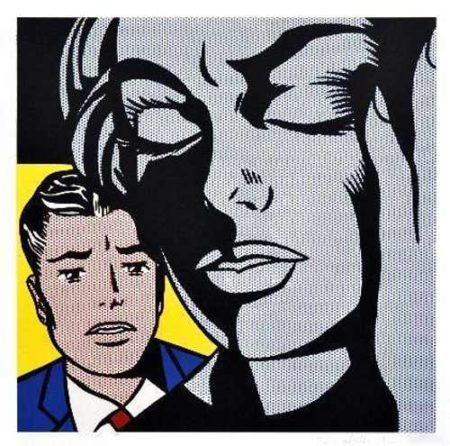 Roy Lichtenstein-Tension-1964