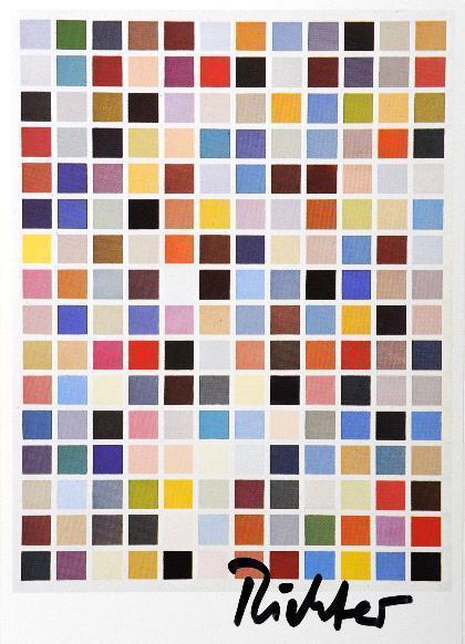 Gerhard Richter-192 Farben, Serie 19-1980