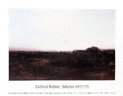 Gerhard Richter-Plakat Dusseldorf-1971