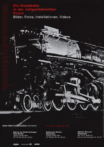 Helmut Newton-Helmut Newton NY Carlsberg Glyptotek; Die Eisenbahn in der Zeitgenossischen Kunst-1994