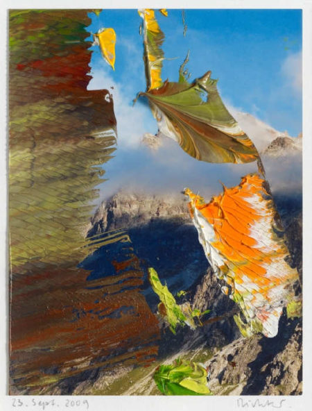 Gerhard Richter-Ohne Titel (23.9.09) / Untitled (23.9.09)-2009