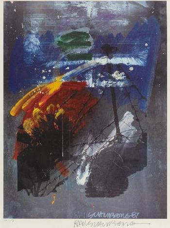 Robert Rauschenberg-Robert Rauschenberg - Untitled-1987