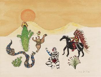 Niki de Saint Phalle-Aus: Arizona Wild Life-