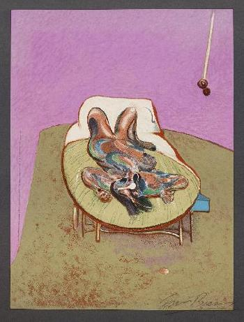 Francis Bacon-Reclining Figure-