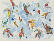 Niki de Saint Phalle-Sky Dance-2001
