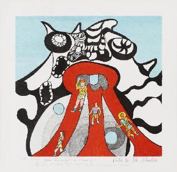 Niki de Saint Phalle-Le Golem-1972
