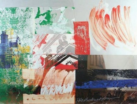 Robert Rauschenberg - Untitled-