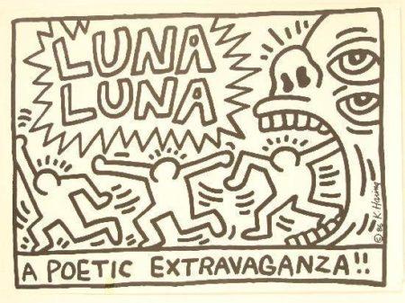 Keith Haring-Keith Haring - A poetic extravaganza-1986