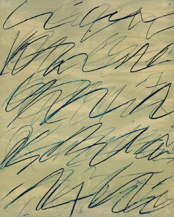 Cy Twombly-Roman notes IV-1970